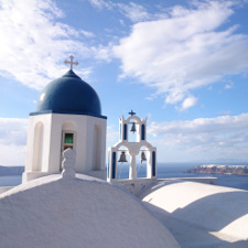 santorini church